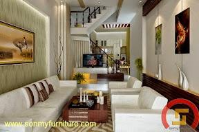 Mẫu thiết kế nội thất nhà phố 709