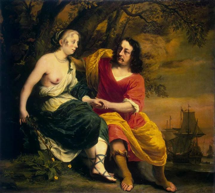 Ferdinand Bol - Bacchus and Ariadne