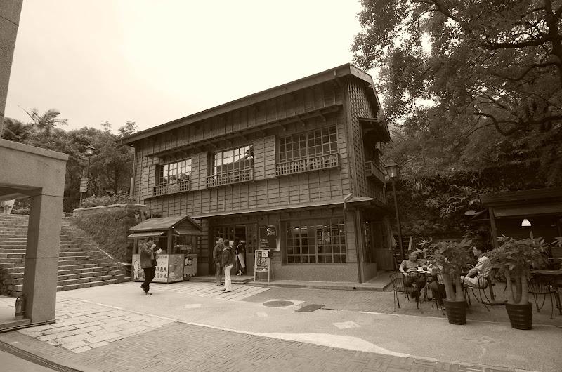 原汁原味的日式建築...