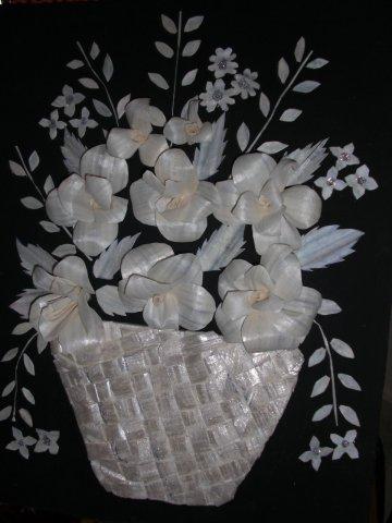Sola Wood Flowers Basket