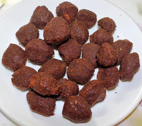 Chocolate Truffle Bites Recipe   No Bake Cookie (Biscuit) Truffles