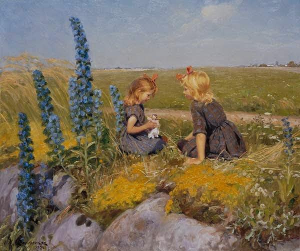 Hans Andersen Brendekilde - The new doll