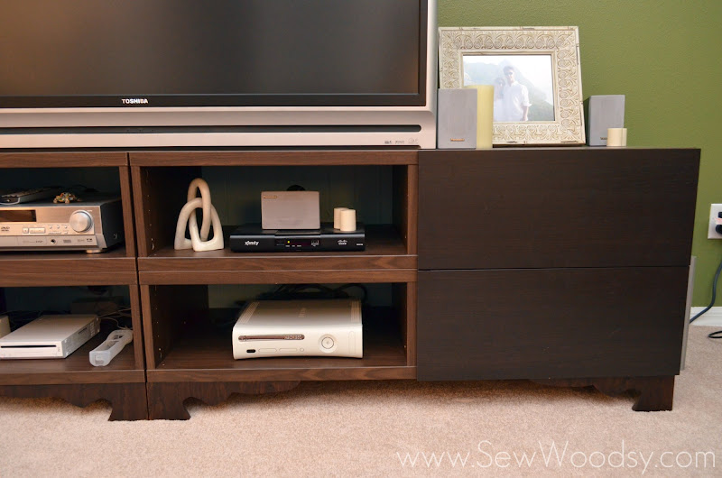{Ikea Hack} Revamp a Media Stand