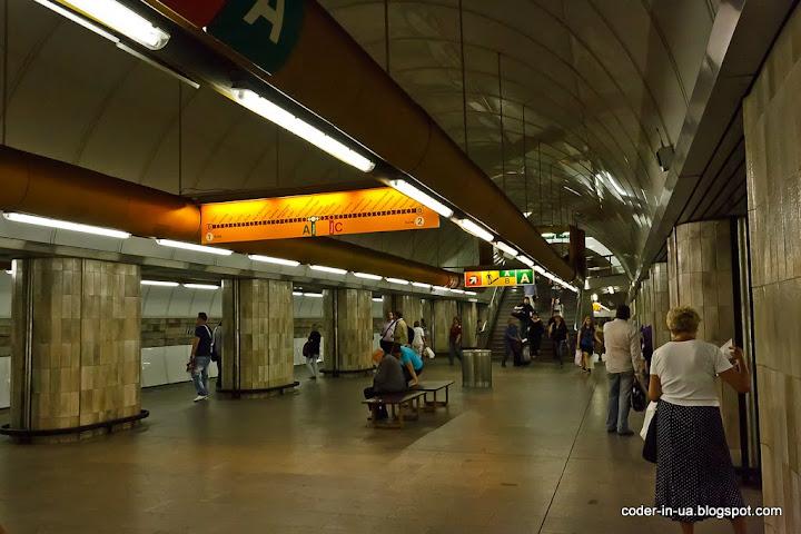 прага. метро