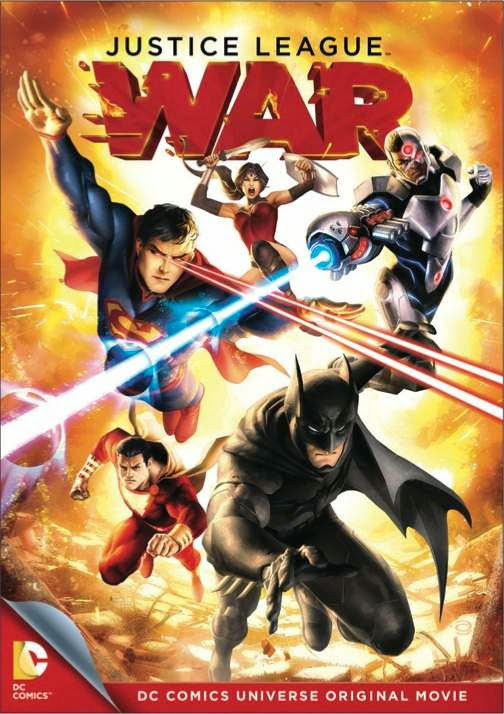 Poster Of English Movie Justice League War (2014) Free Download Full New Hollywood Movie Watch Online At Alldownloads4u.Com