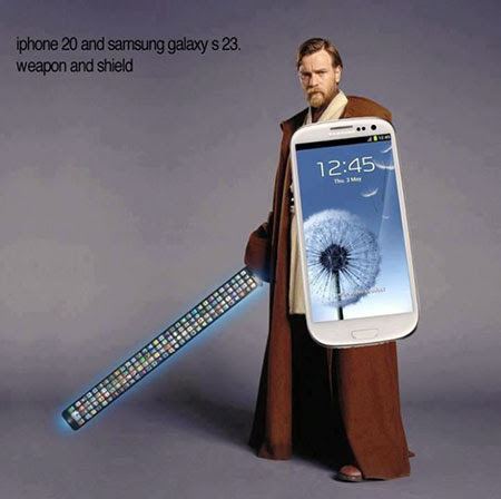 iphone 5 star wars meme