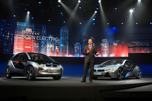BMW New Electric i3 1