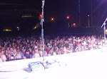 Pre show...Notice the girls on the front row spotting me