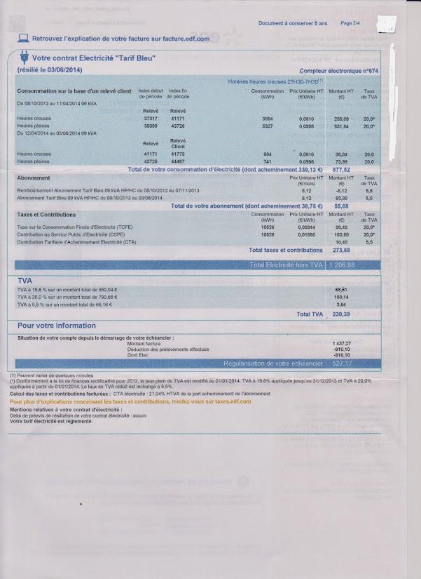 forum 60 millions de consommateurs consulter le sujet tva edf pay 2 fois. Black Bedroom Furniture Sets. Home Design Ideas