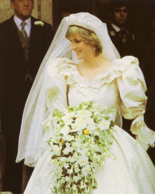 Diana S Bouquet Then And Now