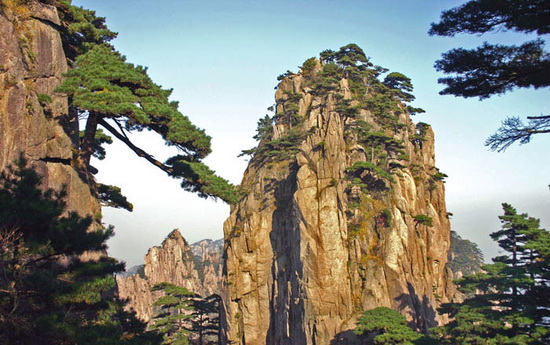 Gunung Huangshan , Cina