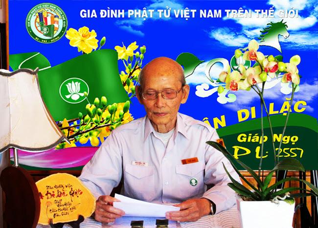 Huấn từ của Ban Hướng Dẫn GĐPTVN Trên Thế Giới tại Lễ Kỷ Niệm Đệ Ngũ Chu Niên Trang Nhà gdptthegioi.org
