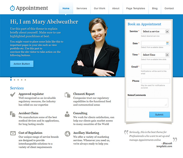 Appointment medical theme