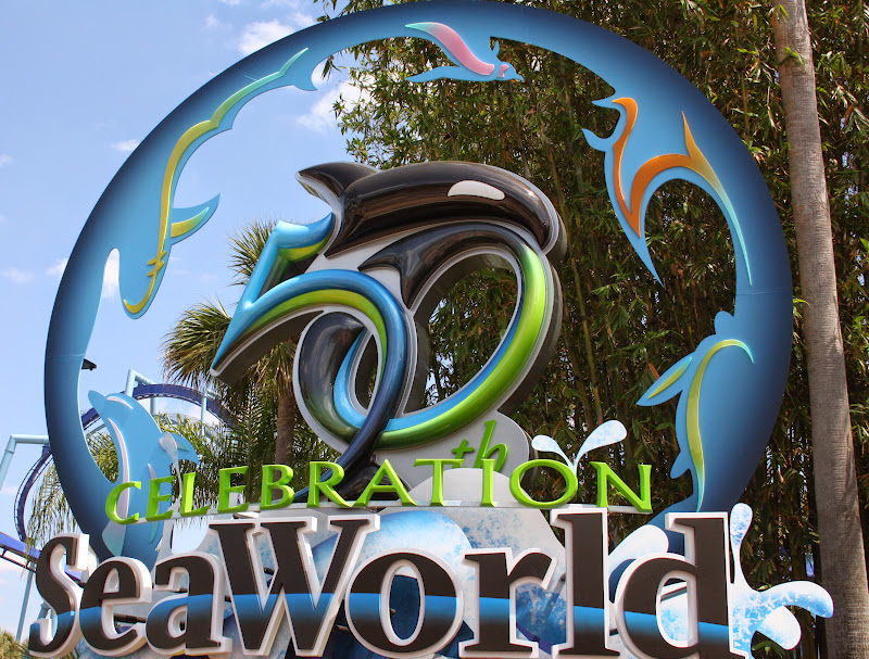 SeaWorld Orlando Makes a Splash for 50th Celebration