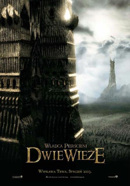 Plakat filmu: Władca Pierścieni: Dwie Wieże