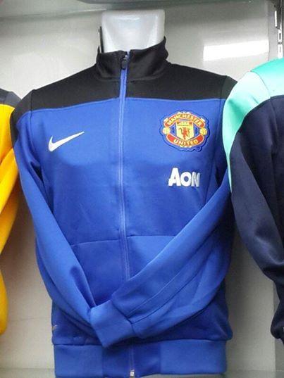 Jual Jaket Manchester United Warna Biru 2014