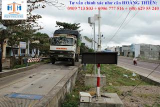 Móng cân xe tải dùng trạm cân ô tô hoàng thiên