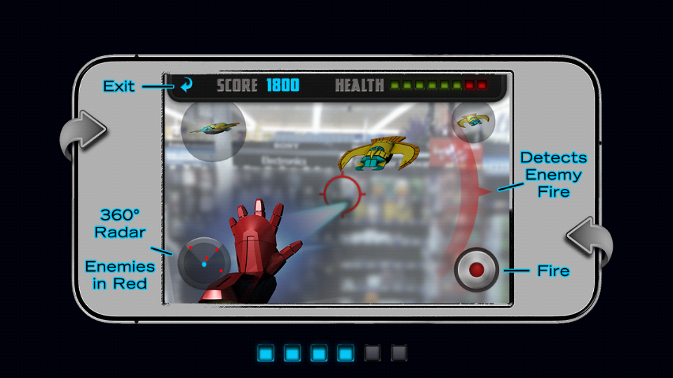#MarvelAvengersWMT Augmented Reality App
