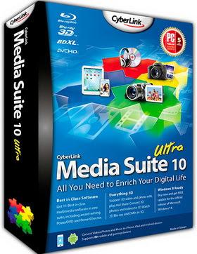 cyberlink media suite 10 ultra crack free download