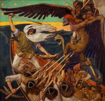 La Défense du Sampo (1896) Akseli Gallen-Kallela