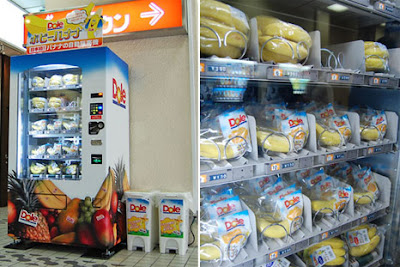 Bananas I Vending Machine or Jidohanbaiki (自動販売機) di Jepang