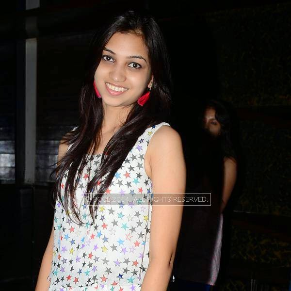 Poonam during a party in Hyderabad.