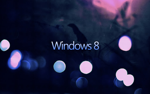 Dark Windows 8 Abstract