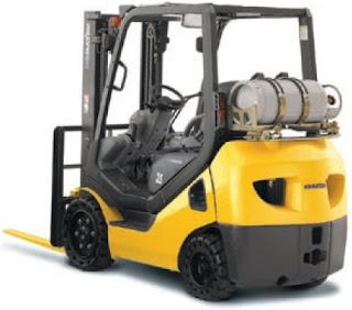 Xe nâng Komatsu 3.5 tấn LPG forklift