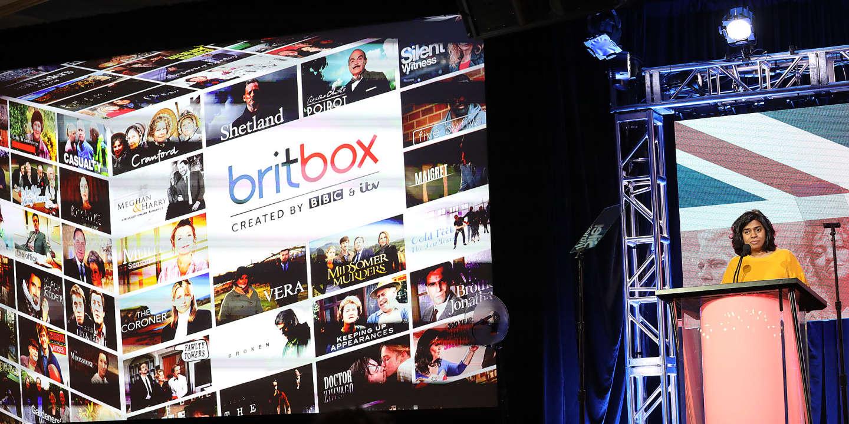 Les groupes de télévision britanniques BBC et ITV ont lancé leur service de vidéo à la demande, BritBox, en 2019. FREDERICK M. BROWN / AFP