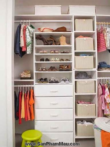 Cách trang trí tủ quần áo để được chồng khen-4