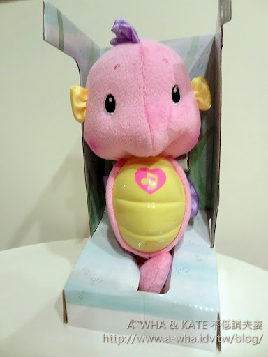 【嬰兒安撫好物】FISHER PRICE費雪小海馬開箱~寶寶陪睡的好朋友!