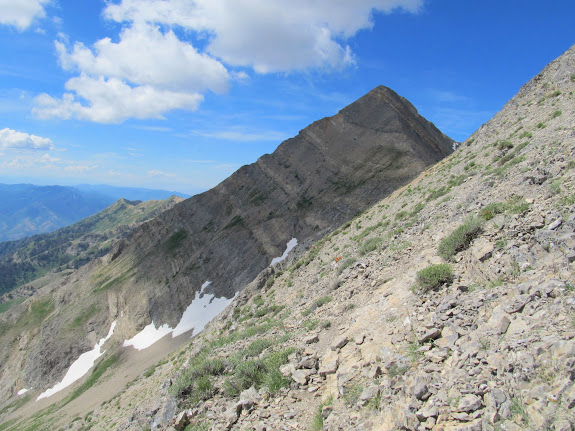 Mt. Nebo's eastern flank