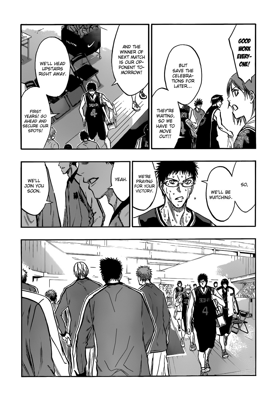 Kuroko no Basket Manga Chapter 169 - Image 12