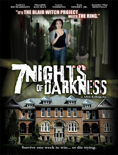 Poster de 7 nights of darkness