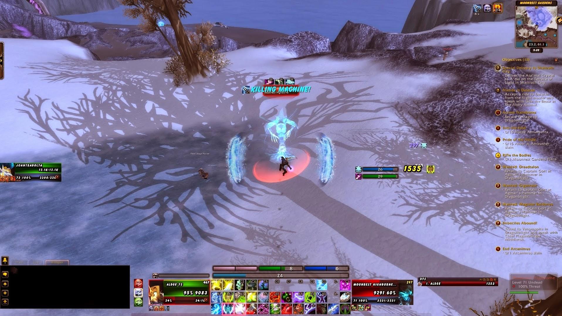World of Warcraft Level 70 Death Knight