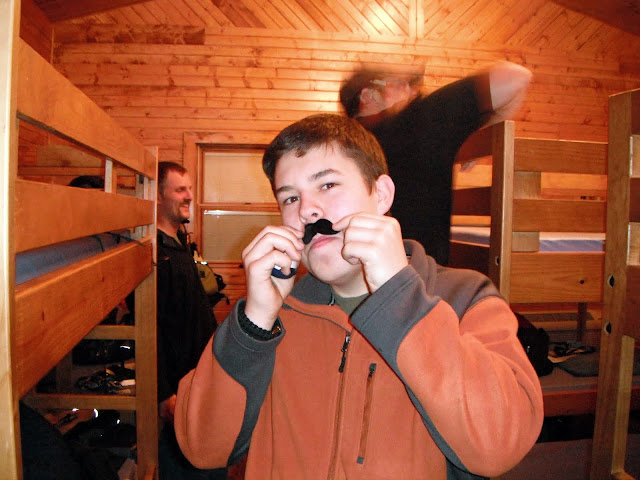 Austin with a Stache