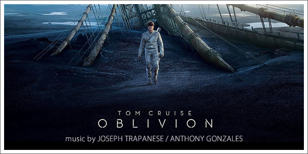 Oblivion (Soundtrack) by Joseph Trapanese and Anthony Gonzales (Review