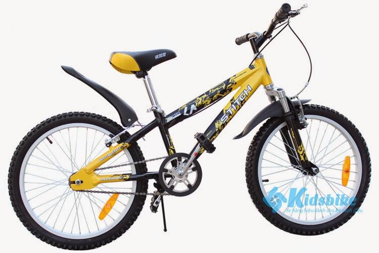 Xe đạp Stitch 996-20B - màu vàng đen