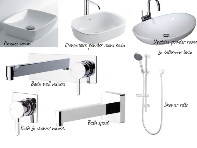 axa a10 above counter basin phoenix cruise wall mixer