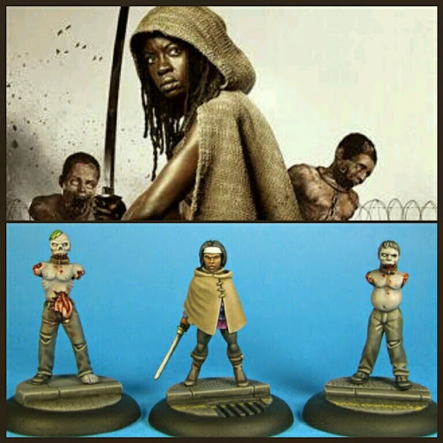 Michonne Walking Dead de Studio miniatures