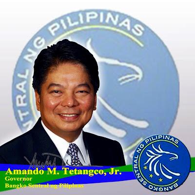 BSP Governor Amando Tetangco Jr.