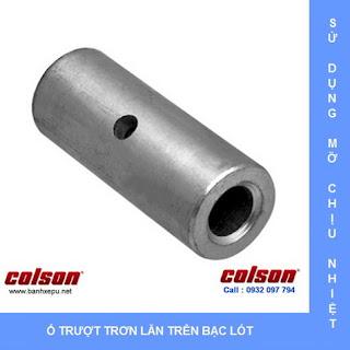 bạc lót bánh xe chịu nhiệt phi 75 Colson của Hoa Kỳ