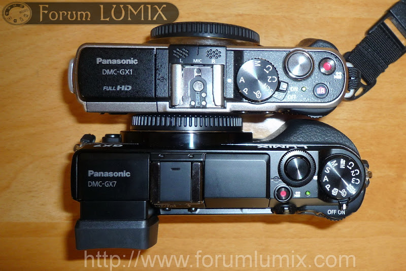 Prise en main du Panasonic Lumix GX7 P1010859