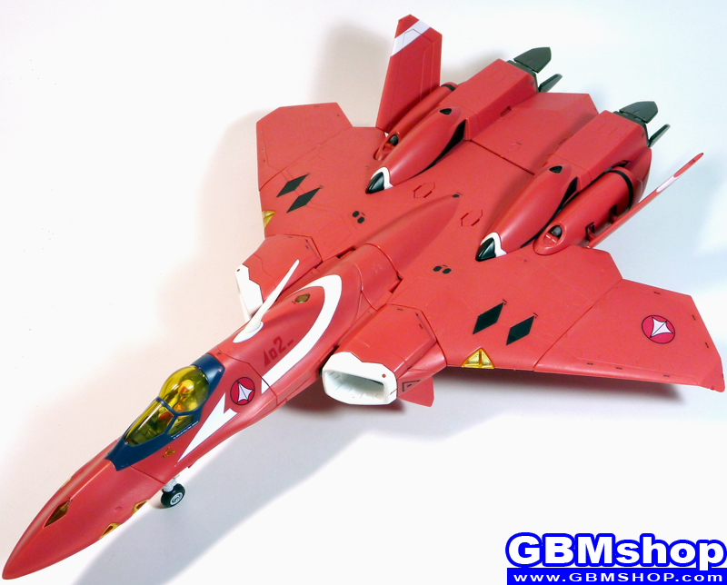 Macross 7 VF-22S Sturmvogel II Milia Fallyna Jenius Custom Fighter Mode