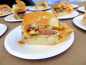 Example goodness from Bunk Sandwiches, here are their samples of Cubano sandwiches