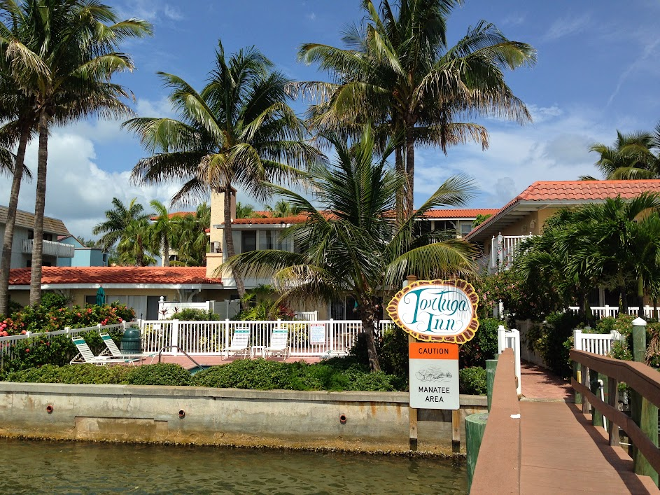 Tortuga Inn from the bay side