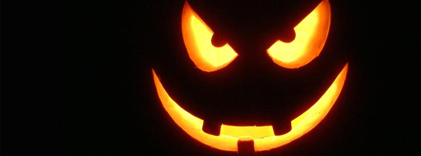 Ảnh bìa rùng rợn ấn tượng đêm Halloween