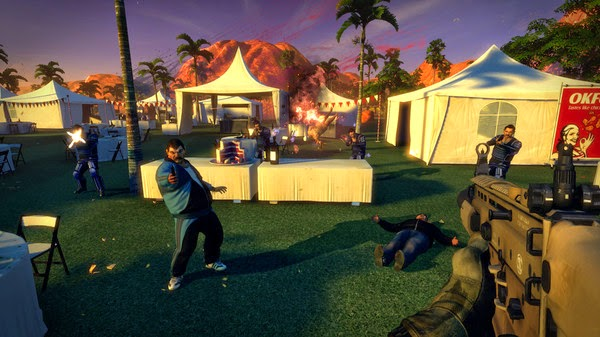 Blue Estate CODEX Free - Game Screenshot