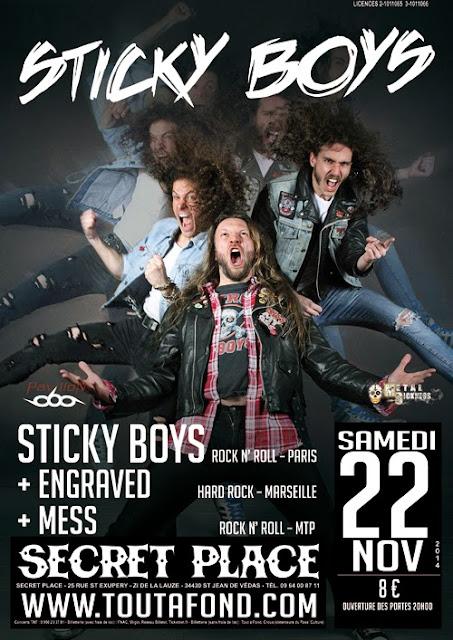 Sticky Boys @ Saint-Jean de Vedas