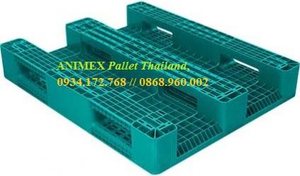 Pallet nhựa mặt lưới nhập khẩu Thái Lan